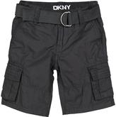 DKNY Caviar Cargo Shorts & Belt - Toddler & Boys