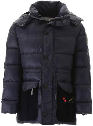 Golden Goose Puffer Jacket With Patches