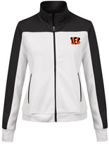 G-iii Sports Women's Cincinnati Bengals Play Maker Rhinestone Track Jacket