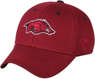 Top of the World Unbranded Arkansas Razorbacks Youth The Rookie 1Fit Flex Hat - Cardinal