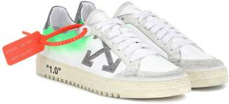 Off-White Off White Arrow 2.0 leather sneakers