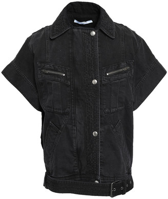 Givenchy Belted Denim Jacket