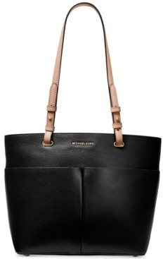 Michael Kors Michael Bedford Pebble Leather Pocket Tote