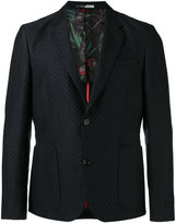 Paul Smith geometric pattern blazer - men - Cotton/Linen/Flax/Viscose - 48