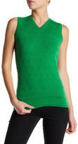 Versace Wool Blend Sweater Vest