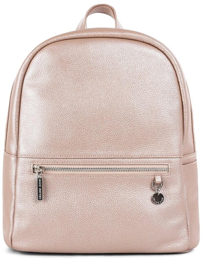 Celine Dion Falsetto Leather Backpack