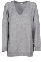 Alexander Wang Oversized V-neck Jumper