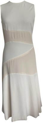 Cédric Charlier Beige Polyester Dresses