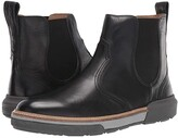 Lucchese After-Ride Chelsea Boot (Black Florence Buffalo Calf) Men's Boots