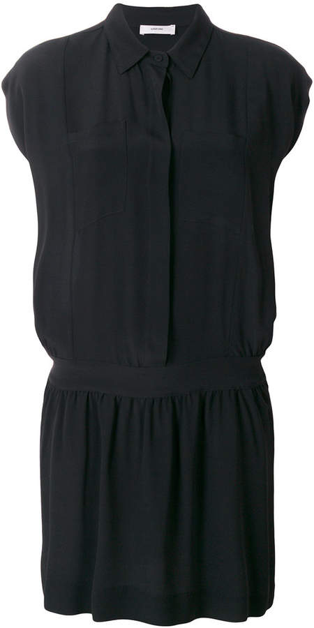 Mauro Grifoni cap sleeve shirt dress