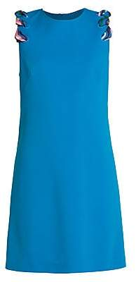 Emilio Pucci Women's Stretch-Cady Shift Dress