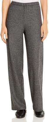Eileen Fisher Tweed Wide-Leg Pants