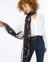 Monsoon Ada Floral & Polka Dot Patchwork Scarf