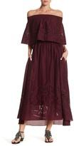 Tibi Carmen Off-the-Shoulder Maxi Dress