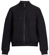 Balenciaga Zip-up wool-blend sweatshirt