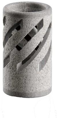 Hukka Design - Hukka Lantern Or Tealight Holder Carelian Soapstone - Grey