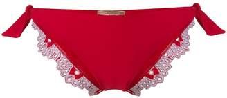 Ermanno Scervino Embroidered Bikini Bottom