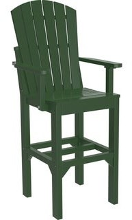 Kunkle Holdings Set of 2 Outdoor Dining Adirondack Arm Chairs