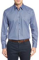 Robert Talbott Men's Anderson Stripe Sport Shirt