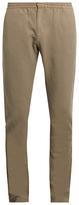 Sunspel Elasticated waist slim-fit trousers