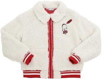 Dolce & Gabbana Faux Shearling Jacket