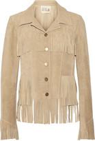 Illia Fringed suede jacket