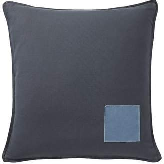 Pottery Barn Teen Classic Canvas Pillow Cover, 18x18, Slate Blue