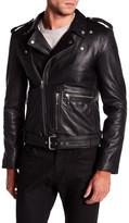 Muu Baa Muubaa Trident Biker Leather Jacket