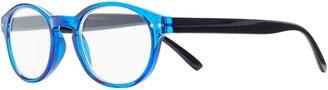 Magnif Eyes Ready Readers St Louis Glasses, Cobalt/Black