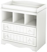 Green Baby South Shore Savannah Collection Changing Table - Pure White