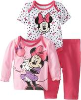 Disney Baby Baby-Girls Minnie Mouse 3 Piece Pant Set