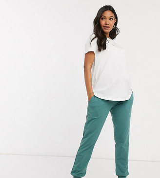 Asos DESIGN Maternity basic jogger with tie
