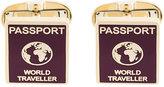 Paul Smith Passport cufflinks