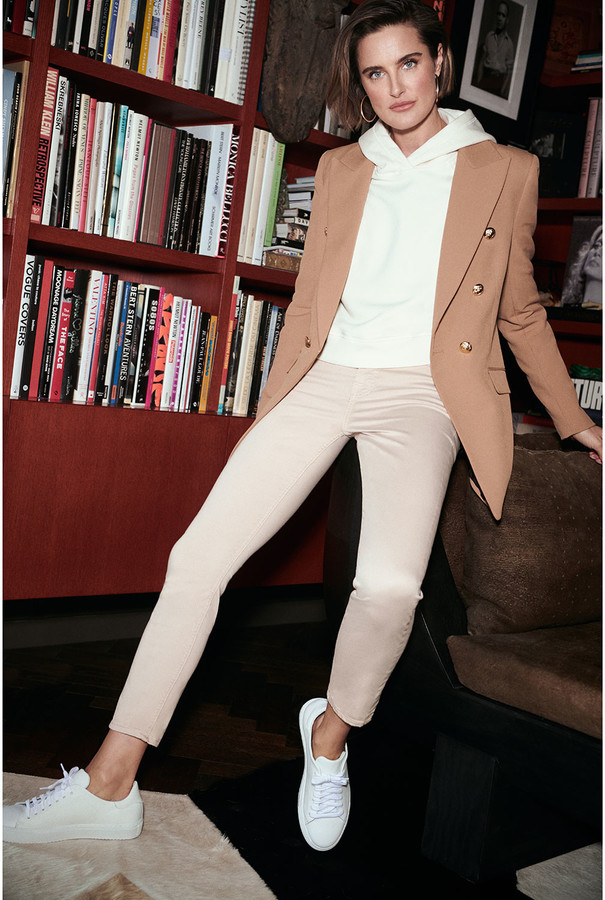 Thumbnail for your product : Jen7 Mid-Rise Ankle Skinny Jeans