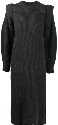 Isabel Marant Bea knitted midi dress