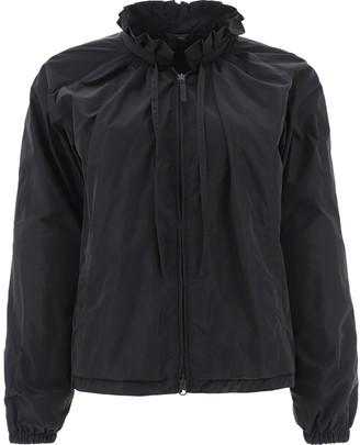 Aspesi Ruffle-Neck Jacket