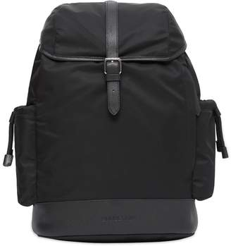 Burberry Leather-Trim Baby Changing Backpack