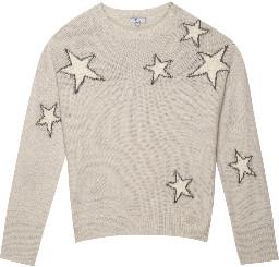 Rails Virgo Sweater - Grey White Stars - S