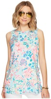 Lilly Pulitzer Donna Tunic Top Women's Blouse