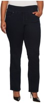 Jag Jeans Plus Size Peri Pull-on Straight in After Midnight Women's Jeans