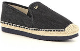 MICHAEL Michael Kors Hastings Denim Slip-On Espadrilles