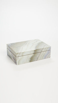 Shopbop @Home Marbleized Multi Color Jewelry Box