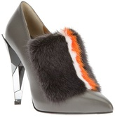 Fendi structured pump