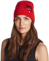 Aqua Sequin Star Knit Cap - 100% Exclusive