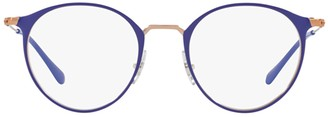 Ray-Ban RB6378 Round Frame Glasses