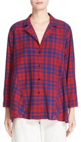 Rachel Comey Women's Yuca Plaid Cotton Boxy Shirt