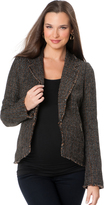 A Pea in the Pod Zipper Detail Maternity Jacket
