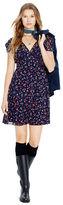 Polo Ralph Lauren Silk Georgette Floral Dress