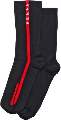 Prada Logo socks