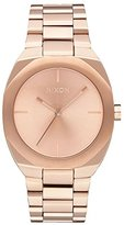Nixon Women's 'Catalyst, All Rose Gold' Quartz Stainless Steel Watch, Color:Champagne (Model: A918-897-00)
